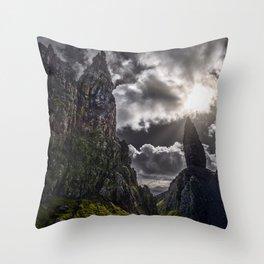 Old Man Of Storr - Isle Of Skye - Scotland Throw Pillow