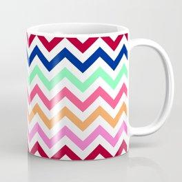 Chevron Zigzag Multicolor Coffee Mug