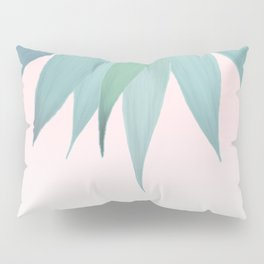 Delicate Agave Fringe Illustration Pillow Sham