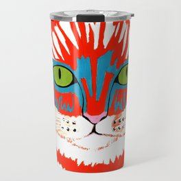Bad Cattitude - Cats Travel Mug