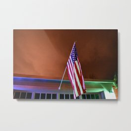 Patriotic at dusk Metal Print