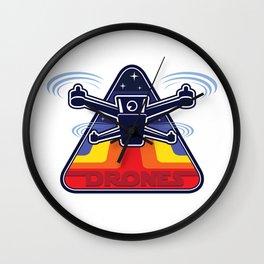 X-Wing Drones Wall Clock