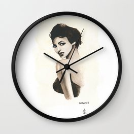 Black HERstory: Dorothy Wall Clock
