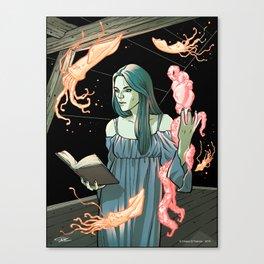 Lovecraft Heart Canvas Print