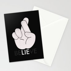 Finger Crossed Stationery Cards