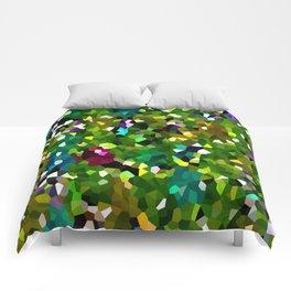 Pineapple Abstract Geometric Comforters