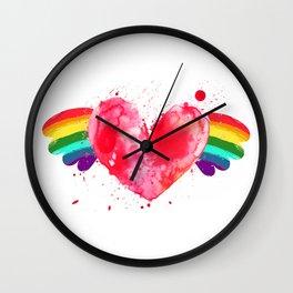 Love Wins. Wall Clock