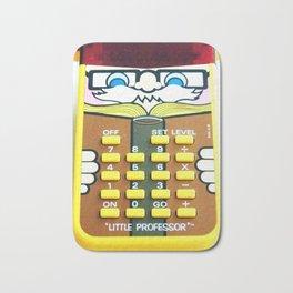 Vintage Calculator Bath Mat