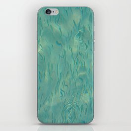 Swimming in the Clear Tropical Water iPhone Skin