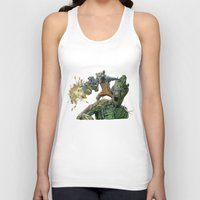 guardians Tank Tops featuring Guardians by theMAINsketch