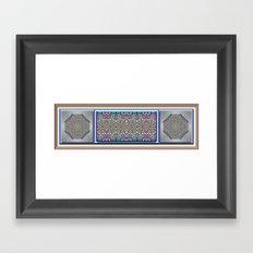 An Indian Garden Framed Art Print