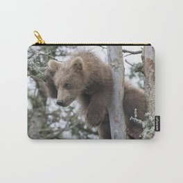 Baby Grizzly Bear (Cub) in Tree Carry-All Pouch