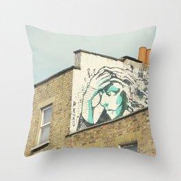 Camden Graffiti Throw Pillow