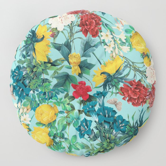 Summer Botanical III Floor Pillow