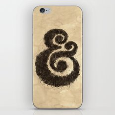 Ink Ampersand iPhone & iPod Skin