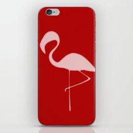 Flamingo Night iPhone Skin
