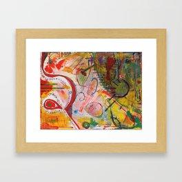 Scan #18 Framed Art Print