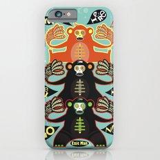 Traffic light monkey iPhone 6s Slim Case