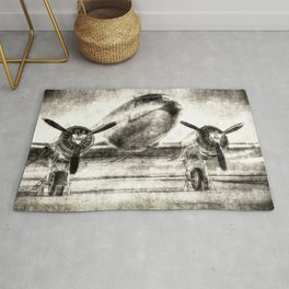Vintage Aviation Rug