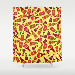 Condiments and Sauces Shower Curtain