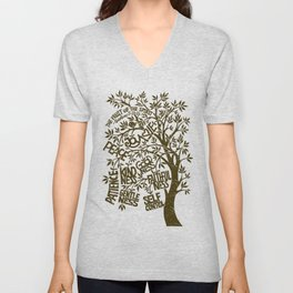 Fruit of the Spirit (Monotone) Unisex V-Neck