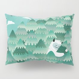 Tree Hugger (Spring & Summer version) Pillow Sham