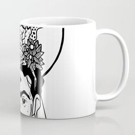 Frida en el caribe Coffee Mug