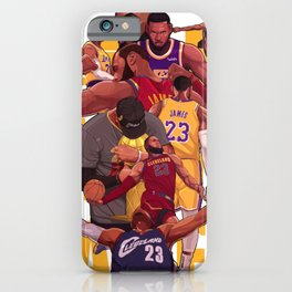 King james of Champion iPhone Case
