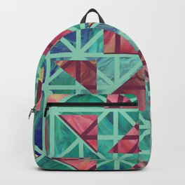 Geometric Shapes: Triangles 02 Backpack