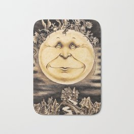Mind Of The Moon Bath Mat