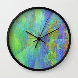 Emerging circles Wall Clock