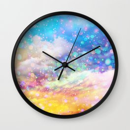 Abstract lights Wall Clock