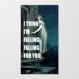 Sleepwalking for You Canvas Print