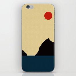 Abstract landscape XVIII iPhone Skin