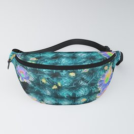 blue! Fanny Pack
