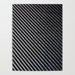 Carbon Fiber texture Poster