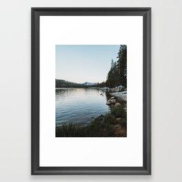 Summer Night by Tenaya Lake II Framed Art Print