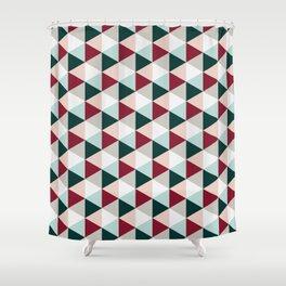 Geometric Triangles GP Shower Curtain