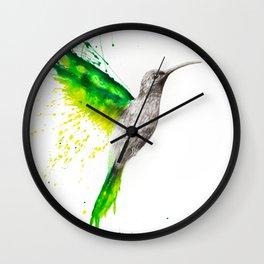Emerald Sun Wall Clock