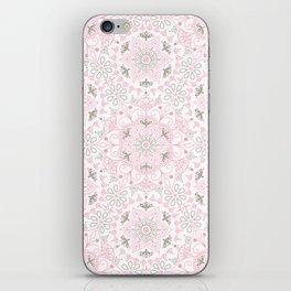 Mandala_Rose-Warm Gray iPhone Skin