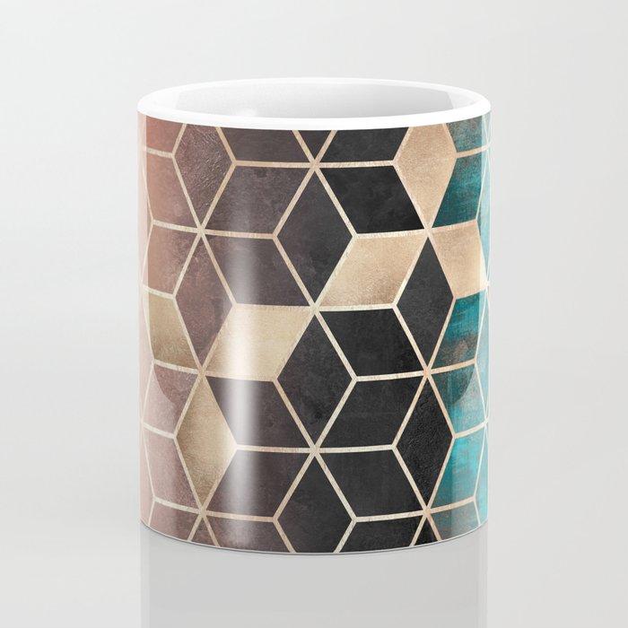 Ombre Dream Cubes Coffee Mug