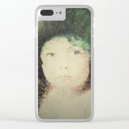 Childhood / Infancia Clear iPhone Case