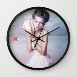Colours of my dreams Wall Clock
