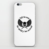 warhammer iPhone & iPod Skins featuring Imperial Guard black, Warhammer 40K by ZsaMo Design