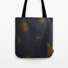 Sun, Moon and Stars.  Tote Bag