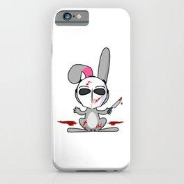 Psycho Bunny | Horror Rabbit iPhone Case