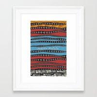 hakuna Framed Art Prints featuring HaKuNa MaTaTa by Detailicious