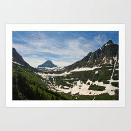 Bear Hat Peak (Glacier National Park) Art Print
