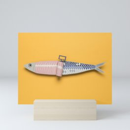 Paper Sardine Mini Art Print