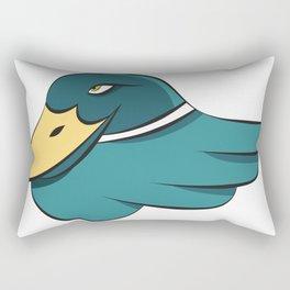 Green Mallard Rectangular Pillow